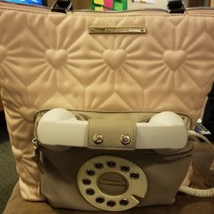 Betsey Johnson Phone Tote.